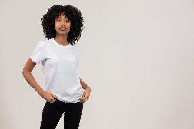 Dat witte t shirt komt toch nog goed van pas voor Moederdag